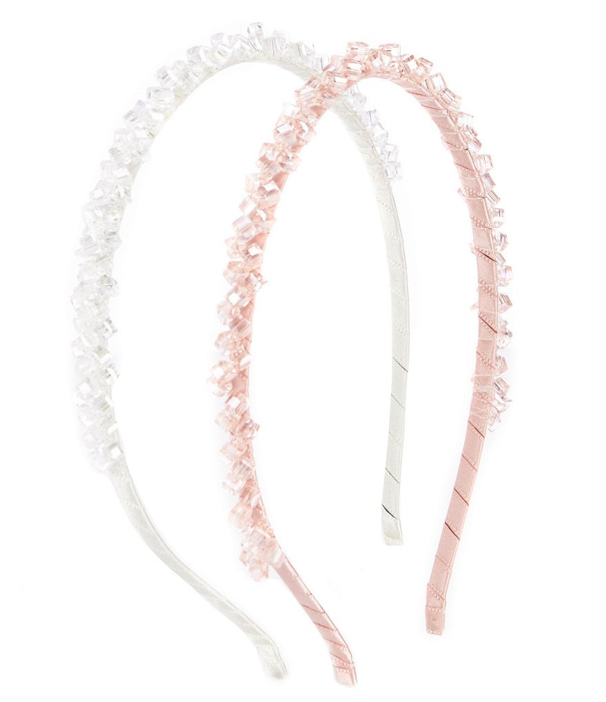 Edgehill Collection 2-Pack Crystal Headband Set