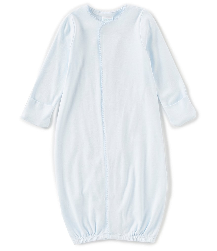 Edgehill Collection Baby Boys Newborn-6 Months Supima Gown