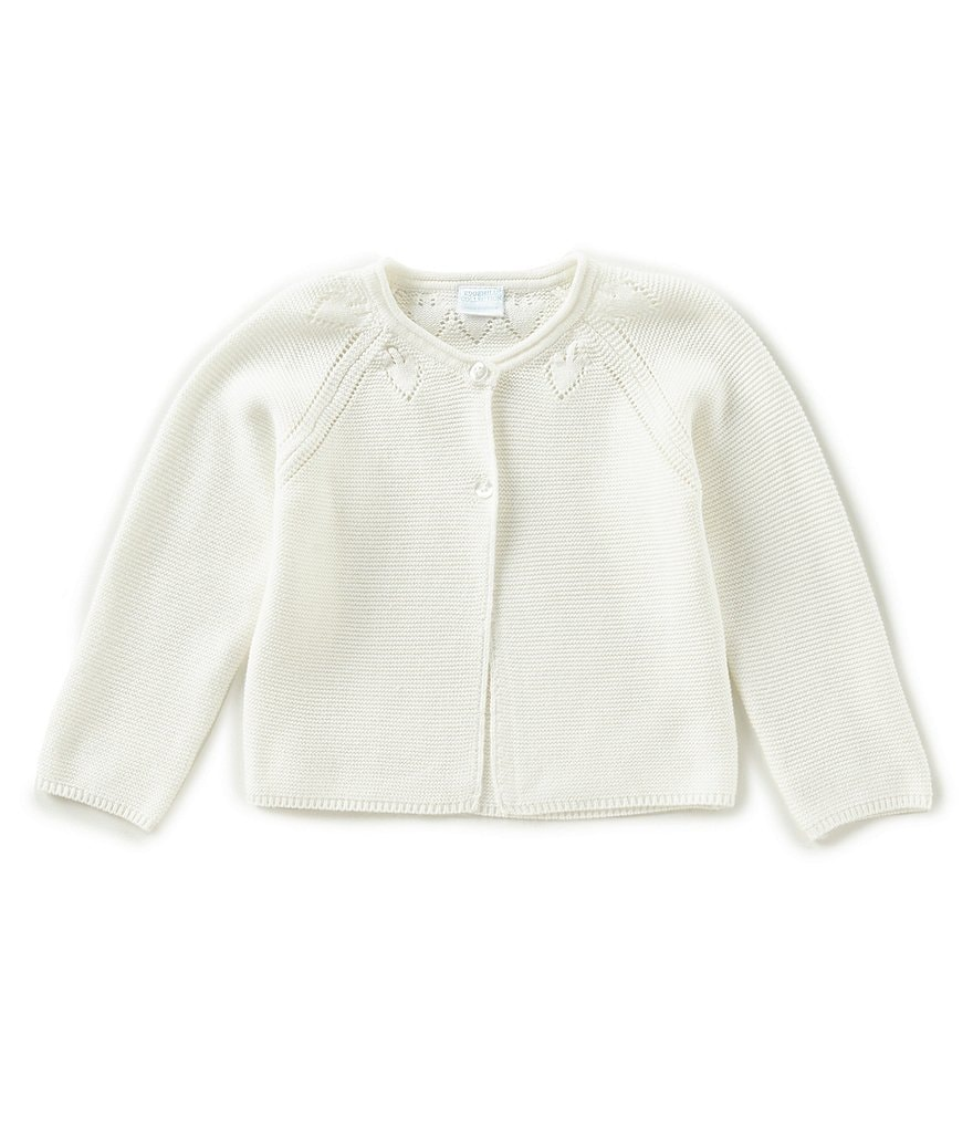 Edgehill Collection Baby Girls 12-24 Months Sweater Cardigan