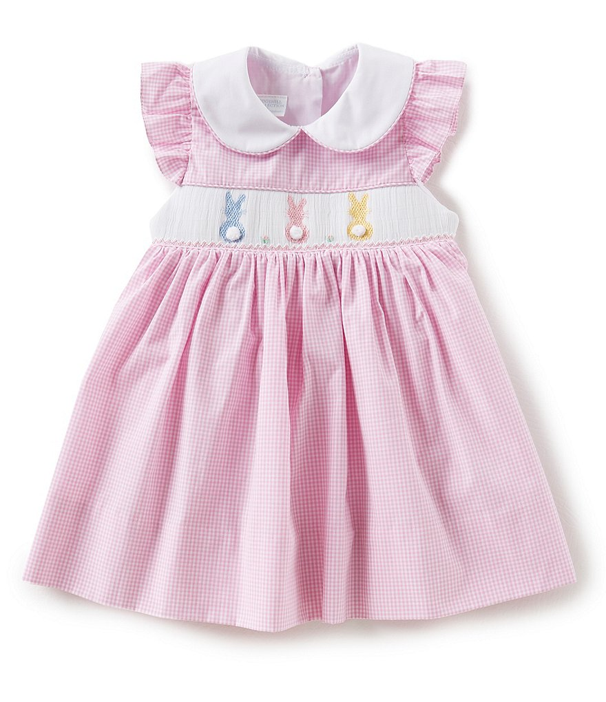 Edgehill Collection Baby Girls 3-24 Months Easter Bunny Dress
