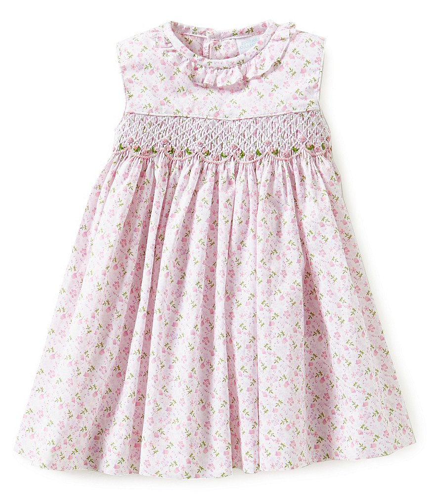 Edgehill Collection Baby Girls 3-24 Months Floral-Print Dress