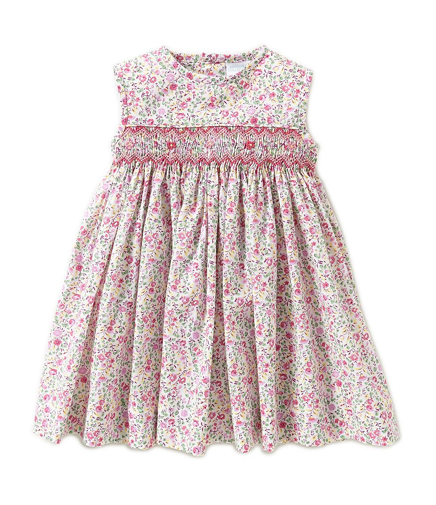 Edgehill Collection Baby Girls 3-24 Months Sleeveless Floral Print Dress