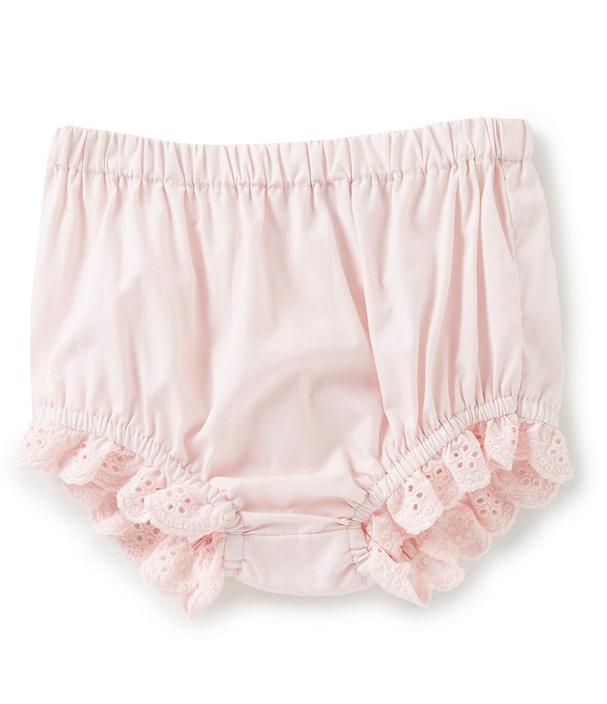 4a4a53c5f0 Edgehill Collection Baby Girls Newborn-24 Months Lace Detail Panty Cover