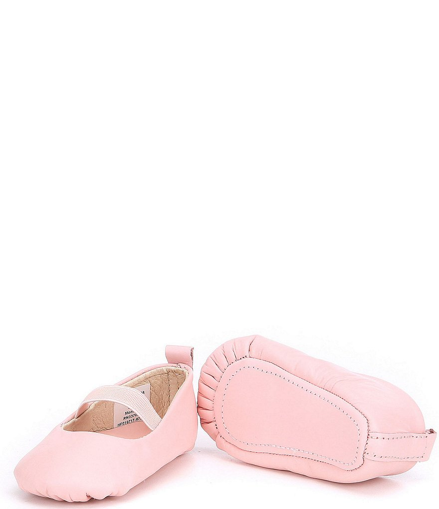 Edgehill Collection Baby Girls' Soft-Sole Leather Shoes