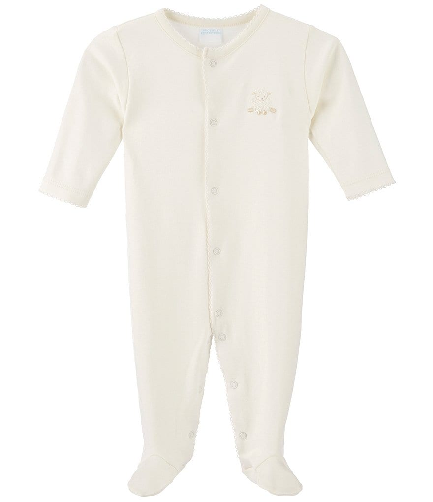 Edgehill Collection Newborn-6 Months Lamb Footed Coverall