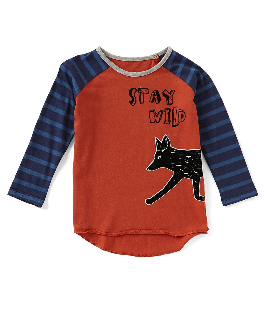 Egg by Susan Lazar Baby/Little Boys 6 Months-4T Cole Halloween Fox Top