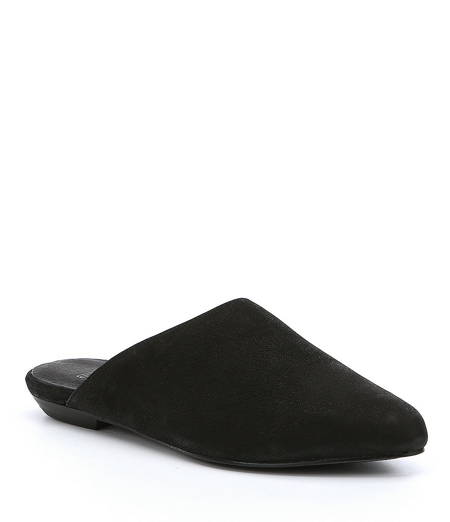 Eileen Fisher Blog Nubuck Mules