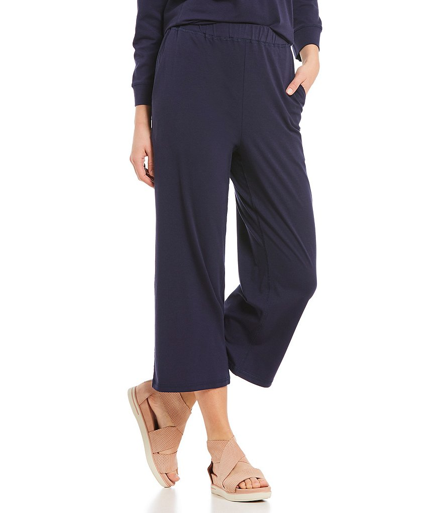 Eileen Fisher Cropped Slouch Pant