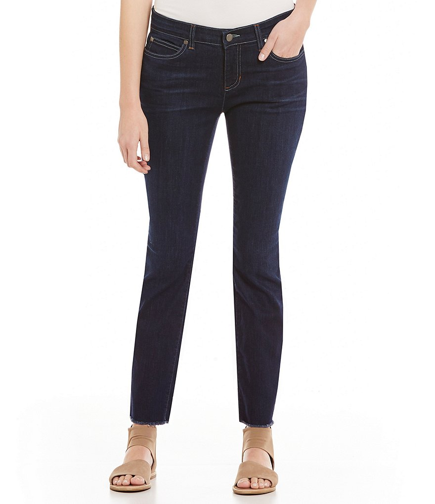 Eileen Fisher Denim Slim Ankle Skinny Leg Jeans