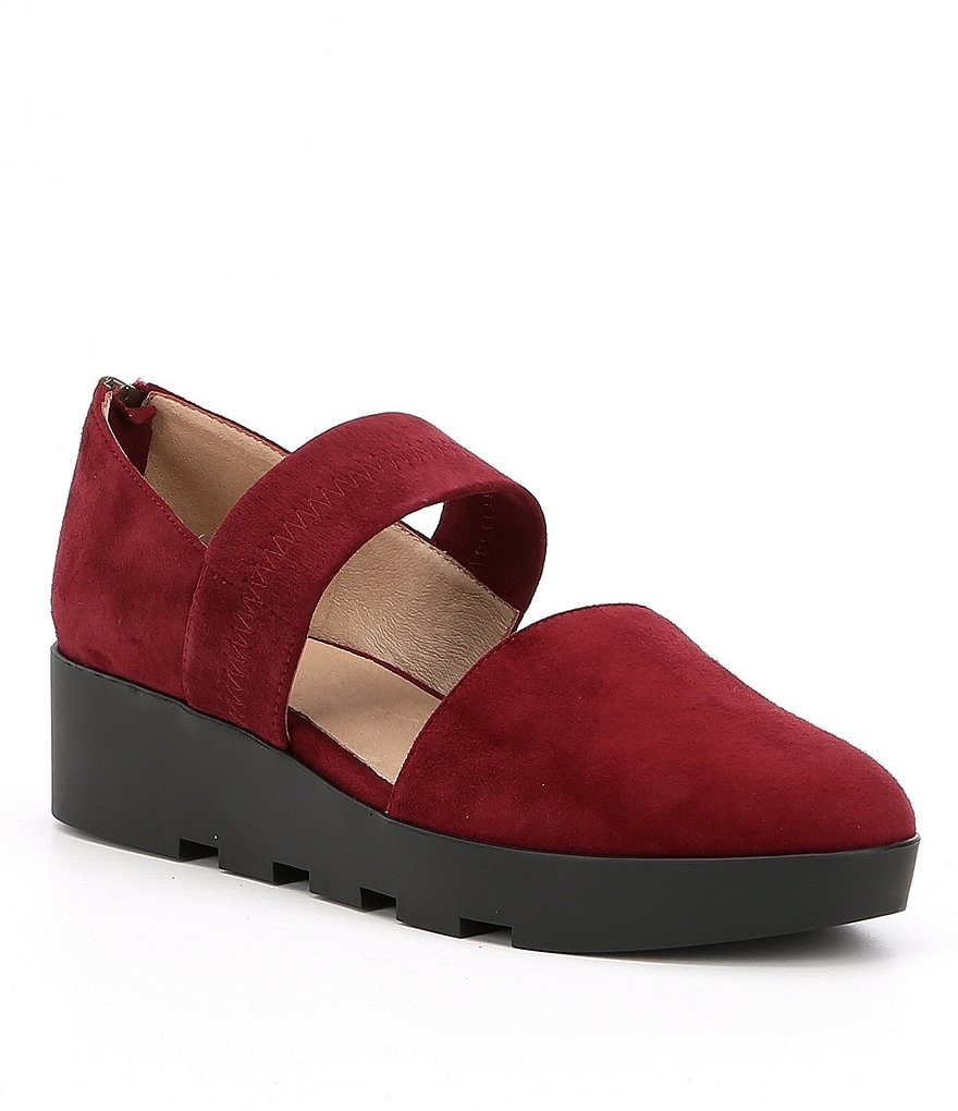 Eileen Fisher Marlow Suede Casual Mary Janes