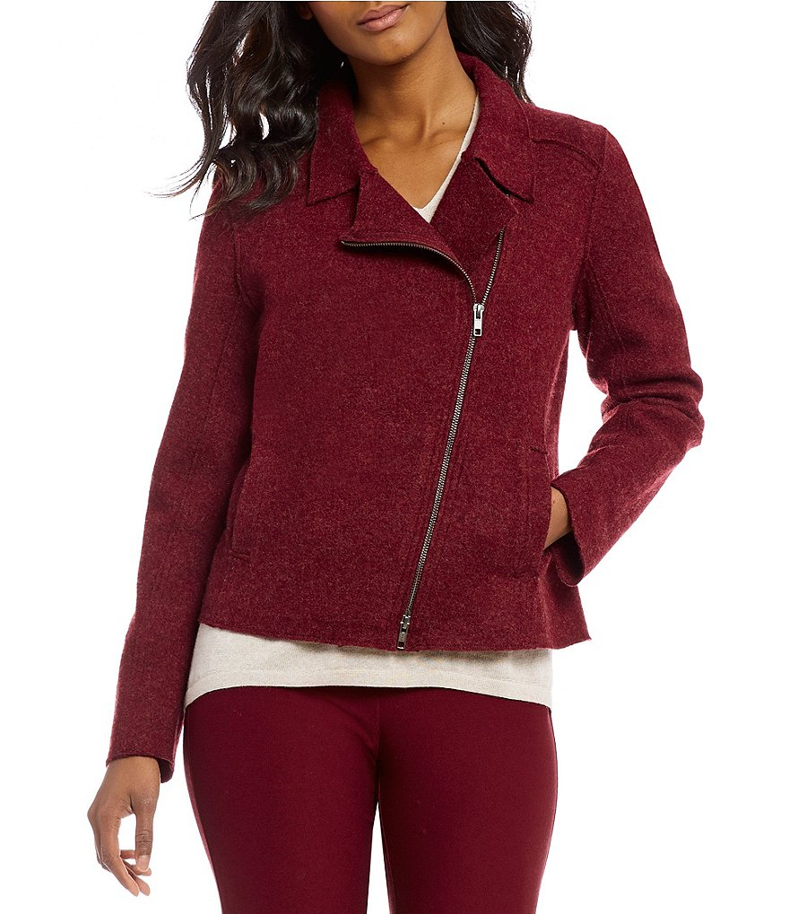Eileen Fisher Moto Jacket