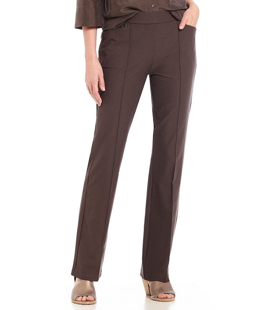 Eileen Fisher Petites Slim Bootcut Pants