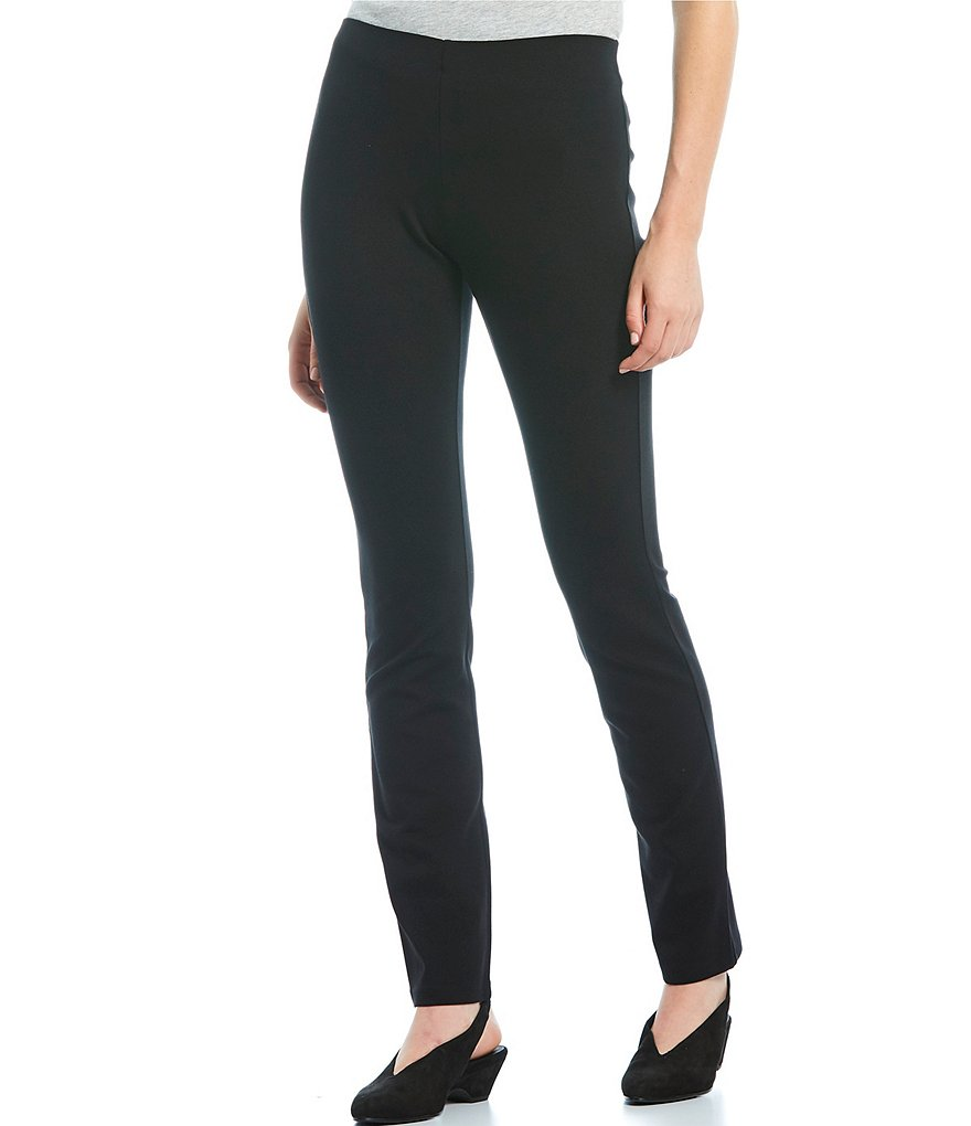 Eileen Fisher Ponte Skinny Pull-On Pants