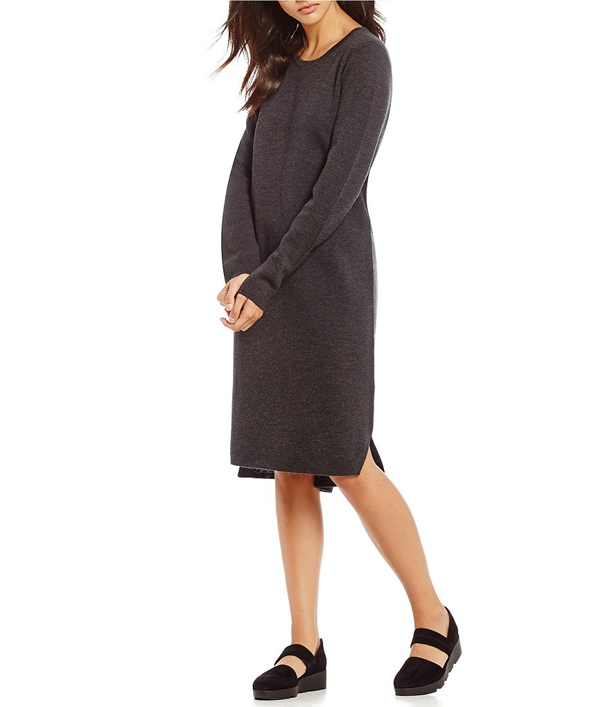 Eileen Fisher Round Neck Dress