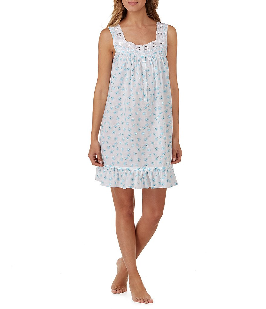 Eileen West Floral Lawn Nightgown
