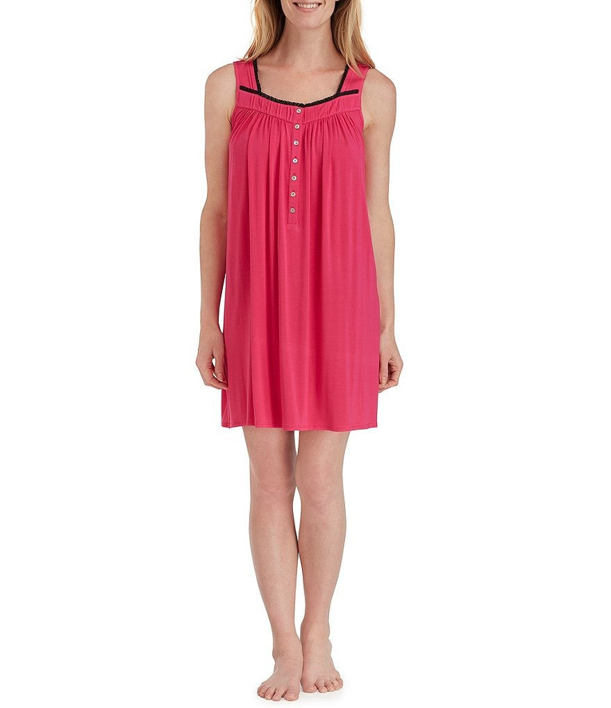 Eileen West Jersey Short Nightgown