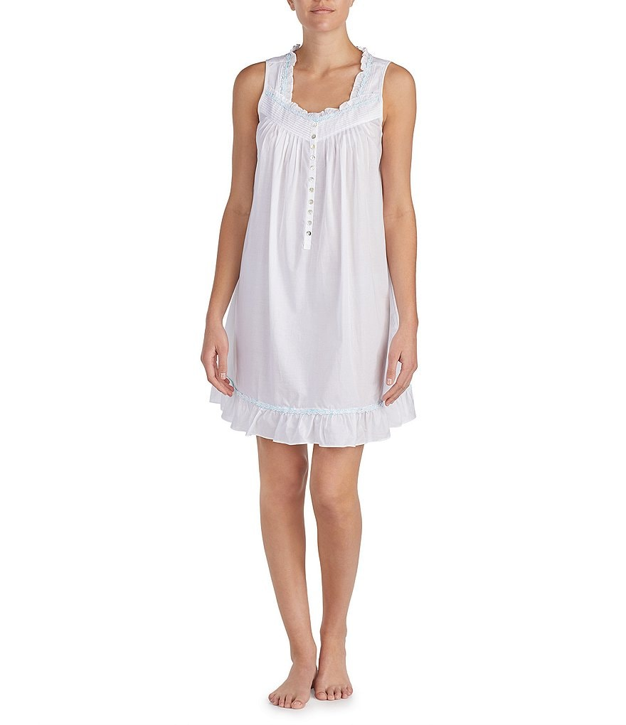 Eileen West Lawn Short Nightgown
