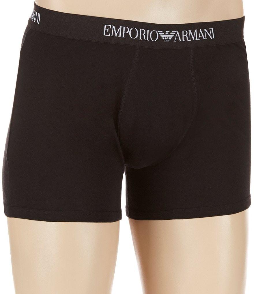 Emporio Armani 3-Pack Boxer Briefs   Dillard s 8967bef1e10
