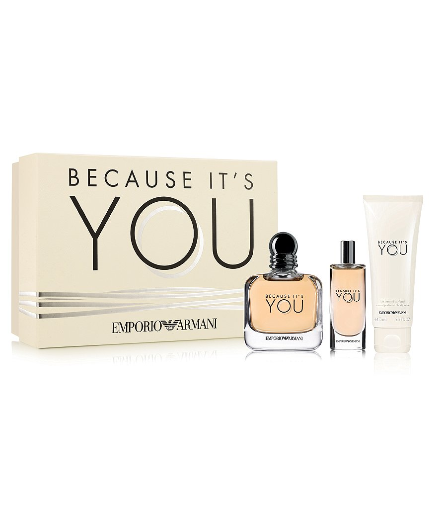 Emporio Armani Because It's You Classic Set