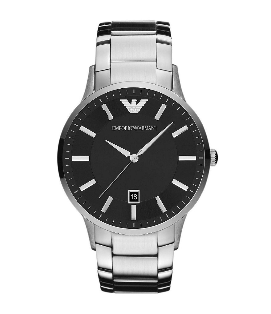 Emporio Armani Classic Analog Stainless Steel Bracelet Watch