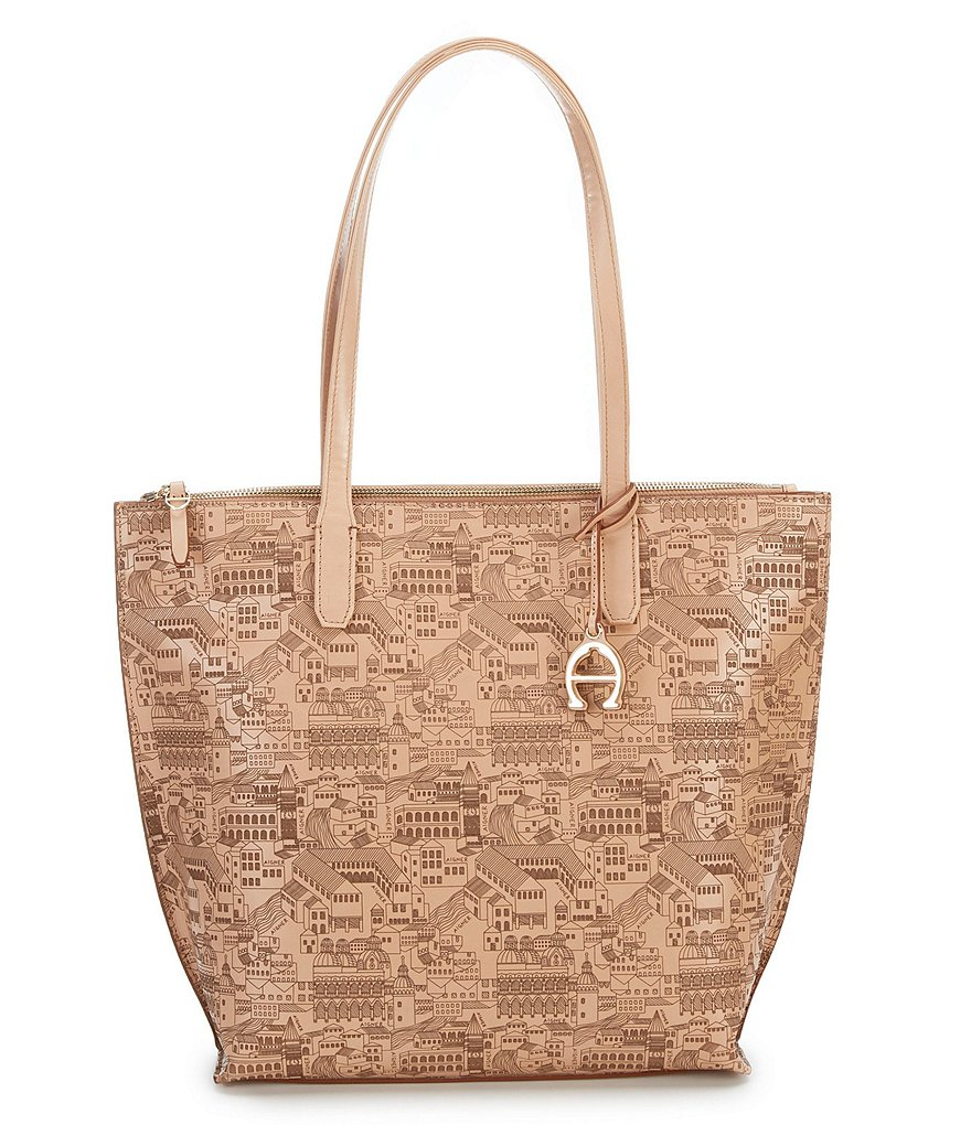 Etienne Aigner Cityscape Voyager Tote