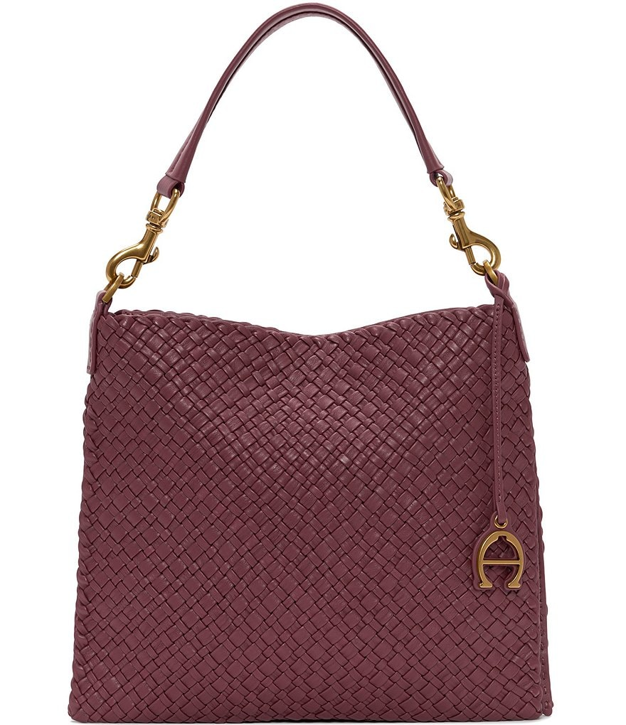 7404be0494 Etienne Aigner Irena Woven Small Hobo Bag
