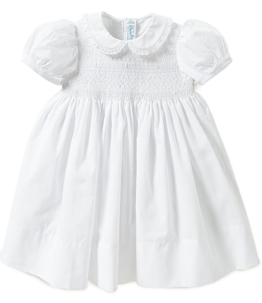 Feltman Brothers Baby Girls 12-24 Months Smocked Lace-Detailed Dress