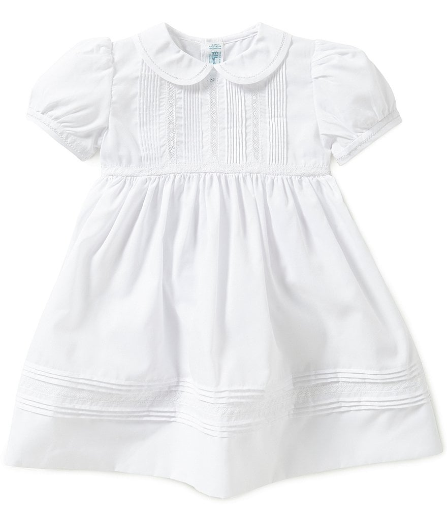 Feltman Brothers Baby Girls 3-24 Months Pintuck and Lace Dress