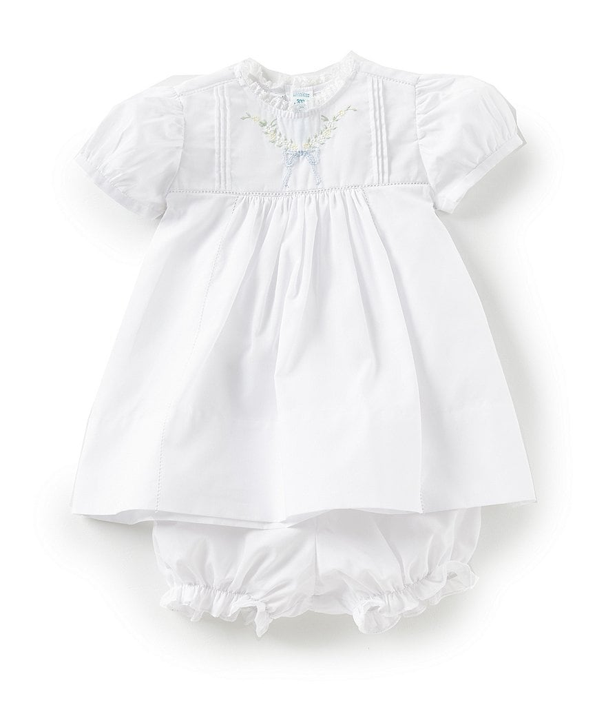 Feltman Brothers Baby Girls 3 Months-9 Months Leaf Bow Dress