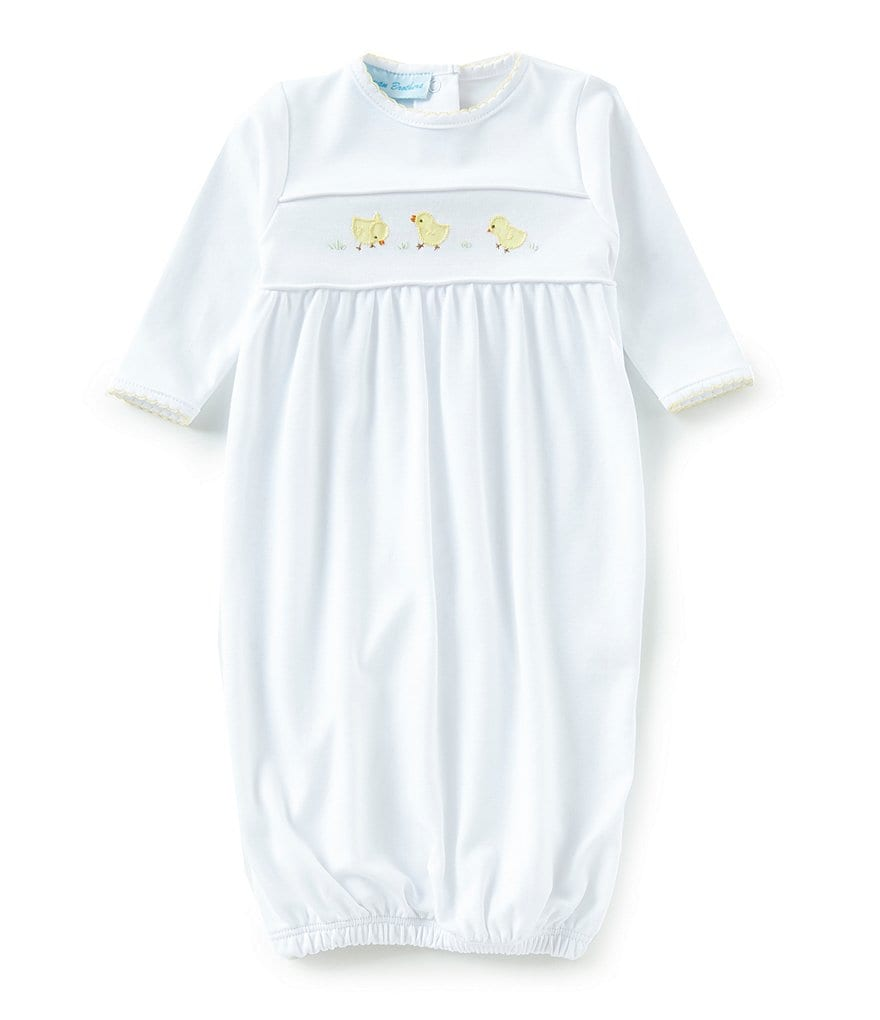 Feltman Brothers Newborn Chick Embroidered Gown | Dillards