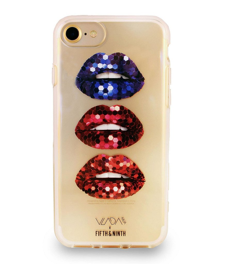 Fifth & Ninth Bedazzled Lips iPhone Case