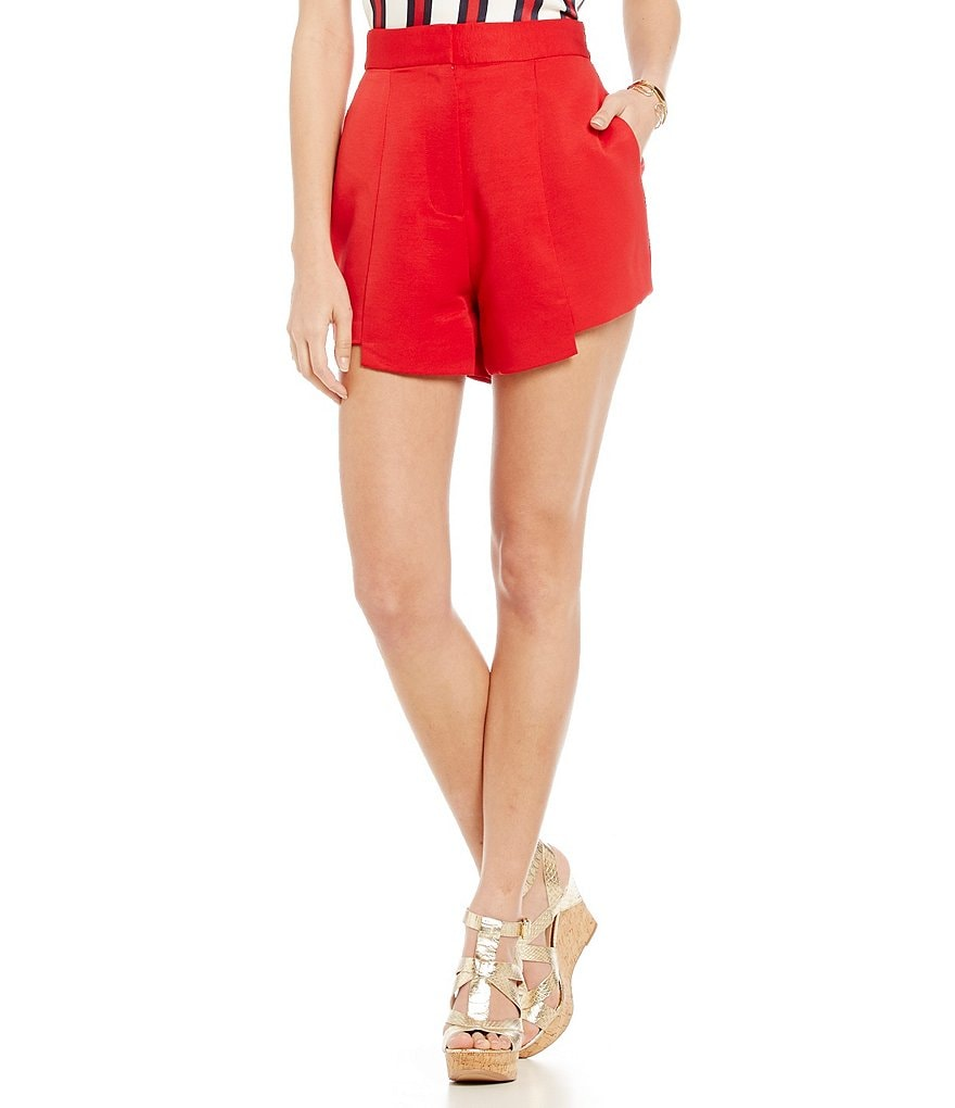 Finders Keepers The Frame High-Waist Fitted Shorts
