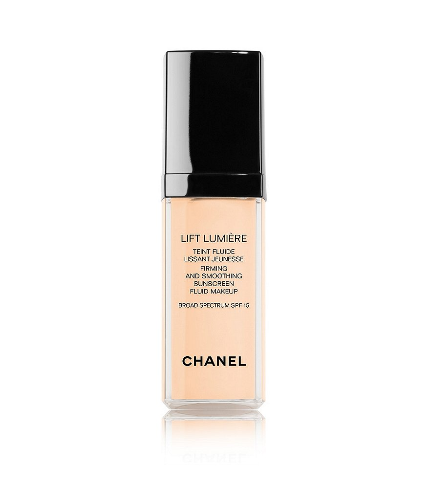CHANEL LIFT LUMIÈRE FIRMING AND SMOOTHING SUNSCREEN FLUID MAKEUP BROAD SPECTRUM SPF 15