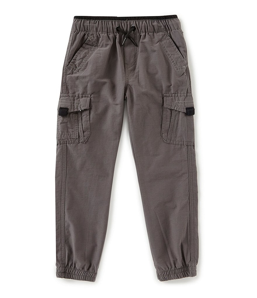 First Wave Little Boys 2T-7 Nylon Jogger Pants
