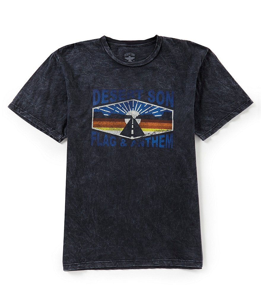 Flag & Anthem Desert Son Route 89 Vintage Washed Short-Sleeve T-Shirt