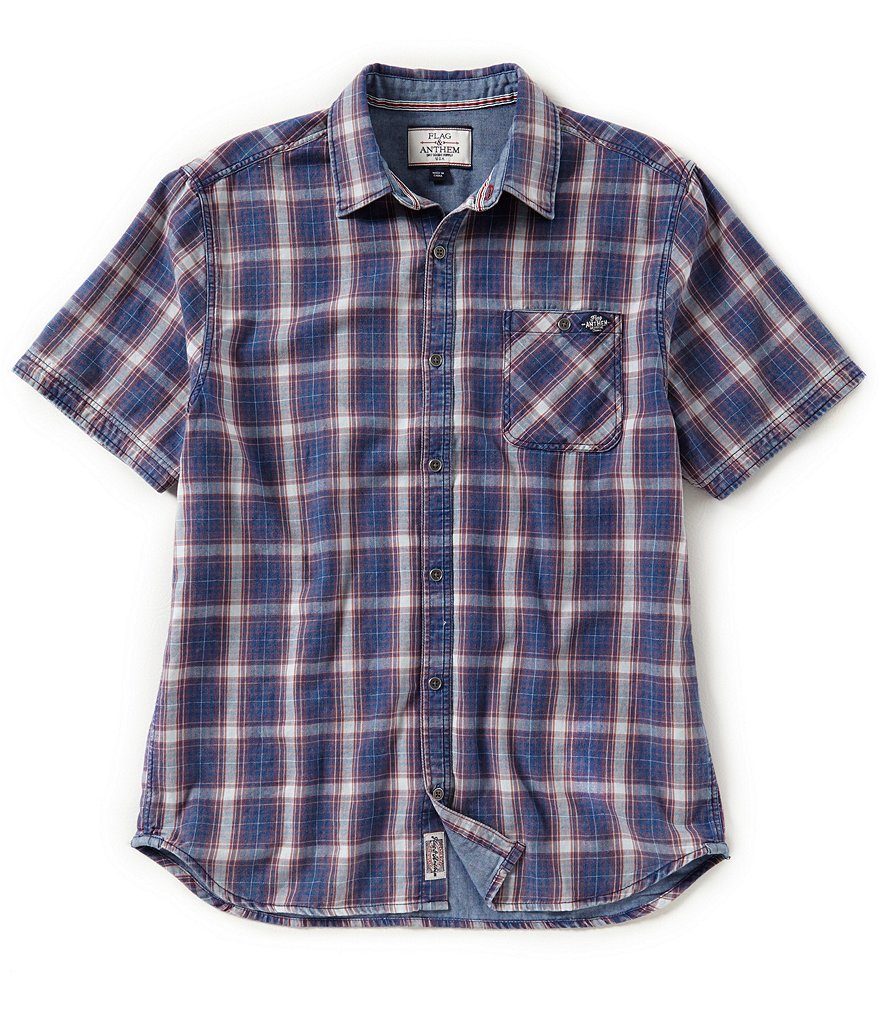 Flag & Anthem Laconia Plaid Short-Sleeve Shirt