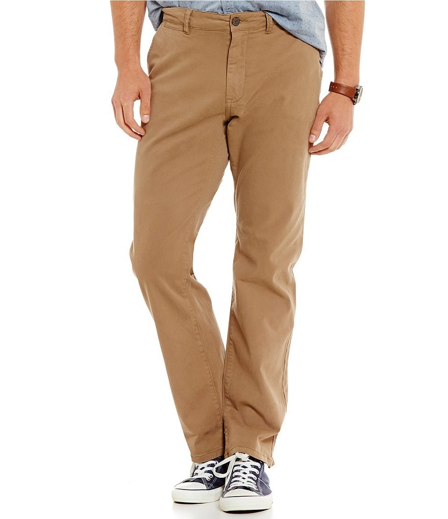 Flag & Anthem Lancaster Flat-Front Straight Leg Stretch Chino Pants
