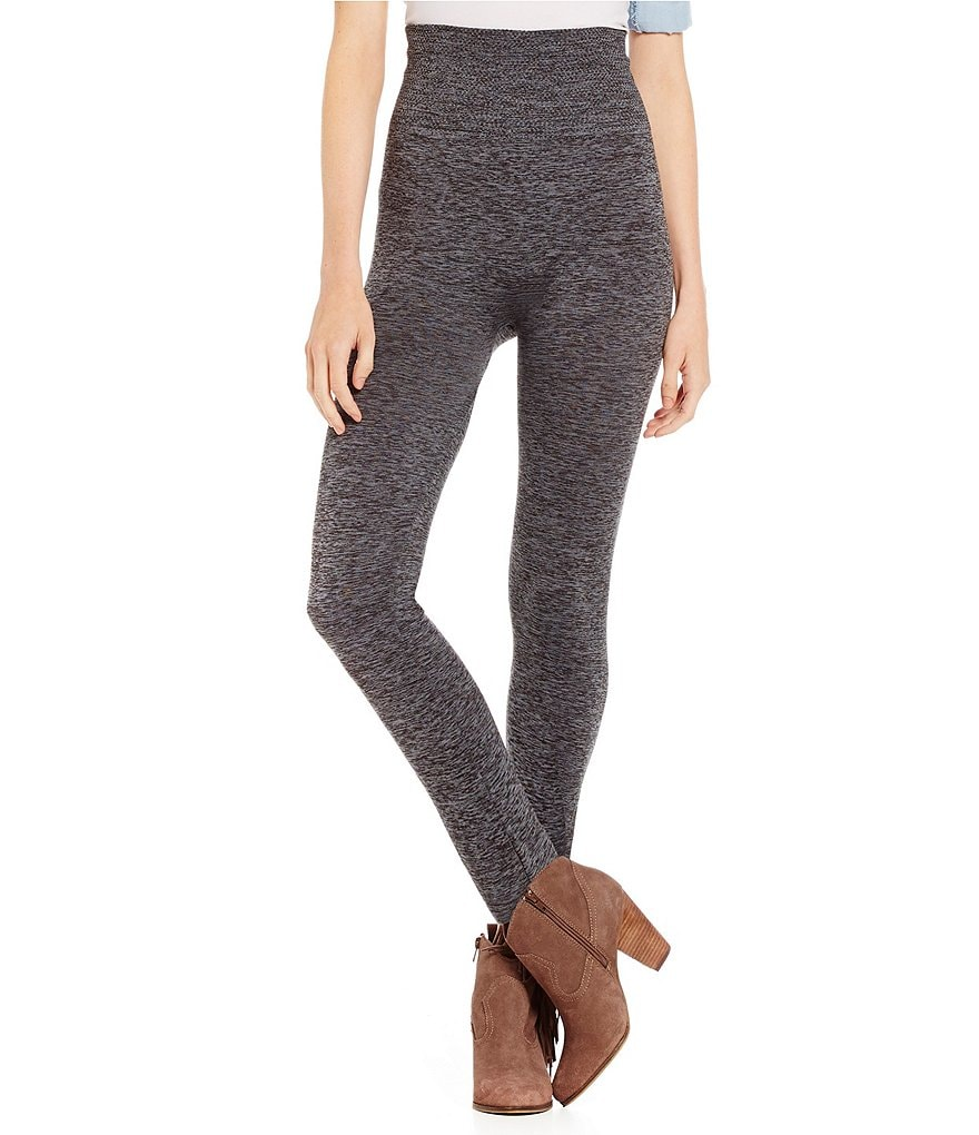 Fornia Space-Dyed Fleece Lined Leggings