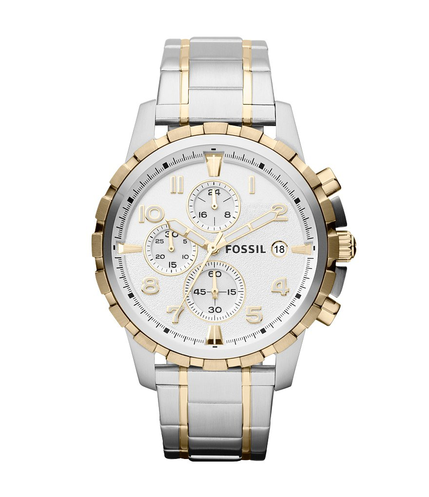 Fossil Dean Stainless Steel Chronograph Watch