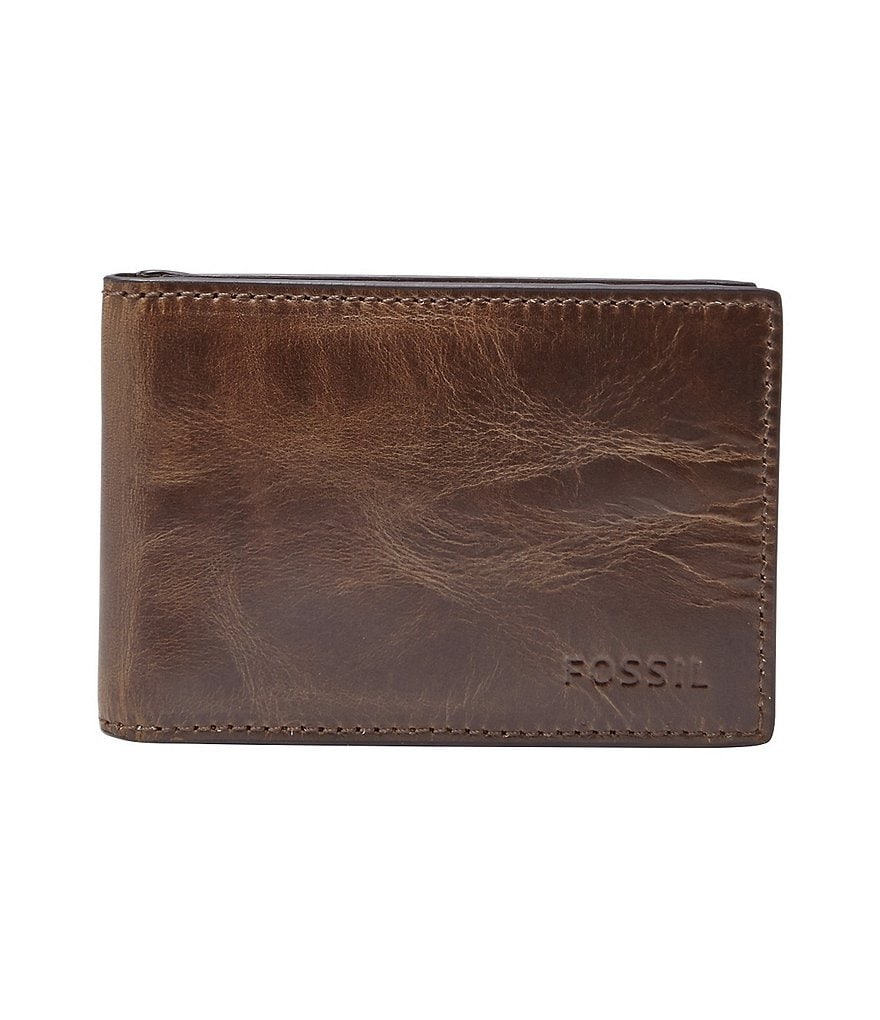 Fossil Derrick Money Clip Bifold Wallet