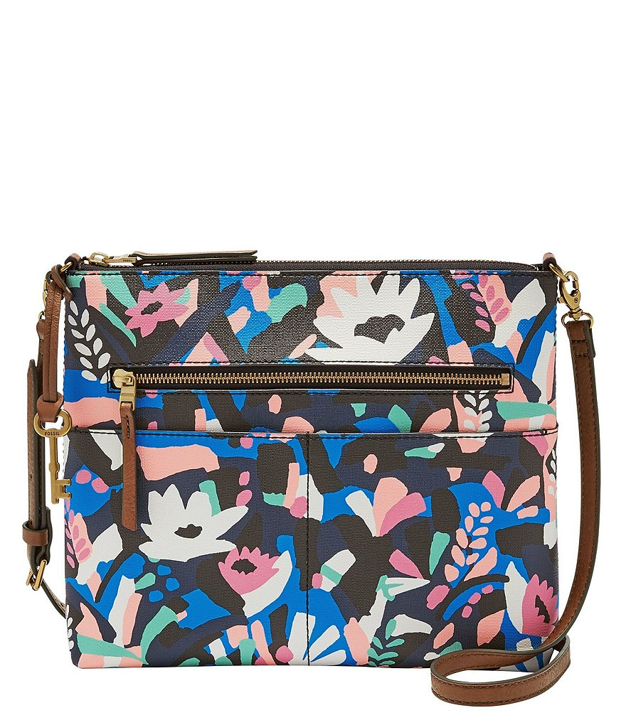 Fossil Fiona Floral Large Cross-Body Bag
