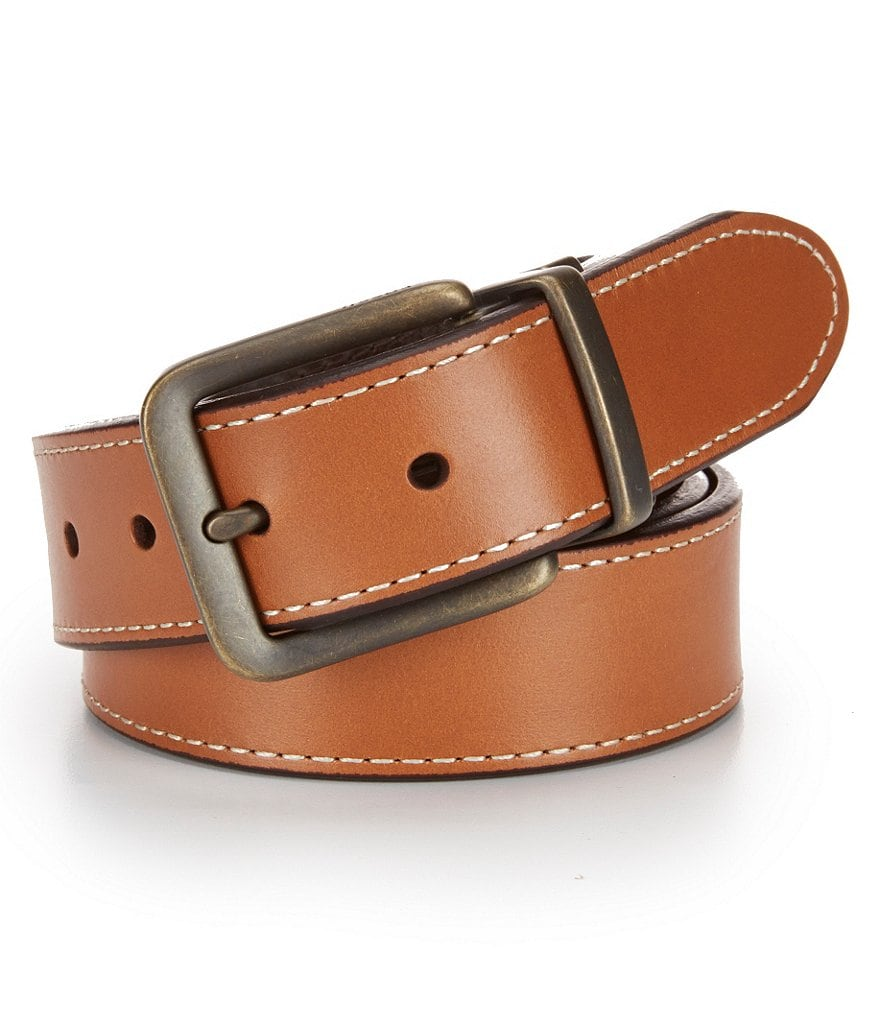 Fossil Fitz Leather Reversible Belt