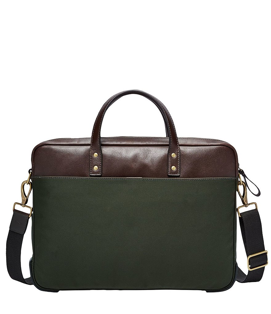 Fossil Haskell Nylon Briefcase