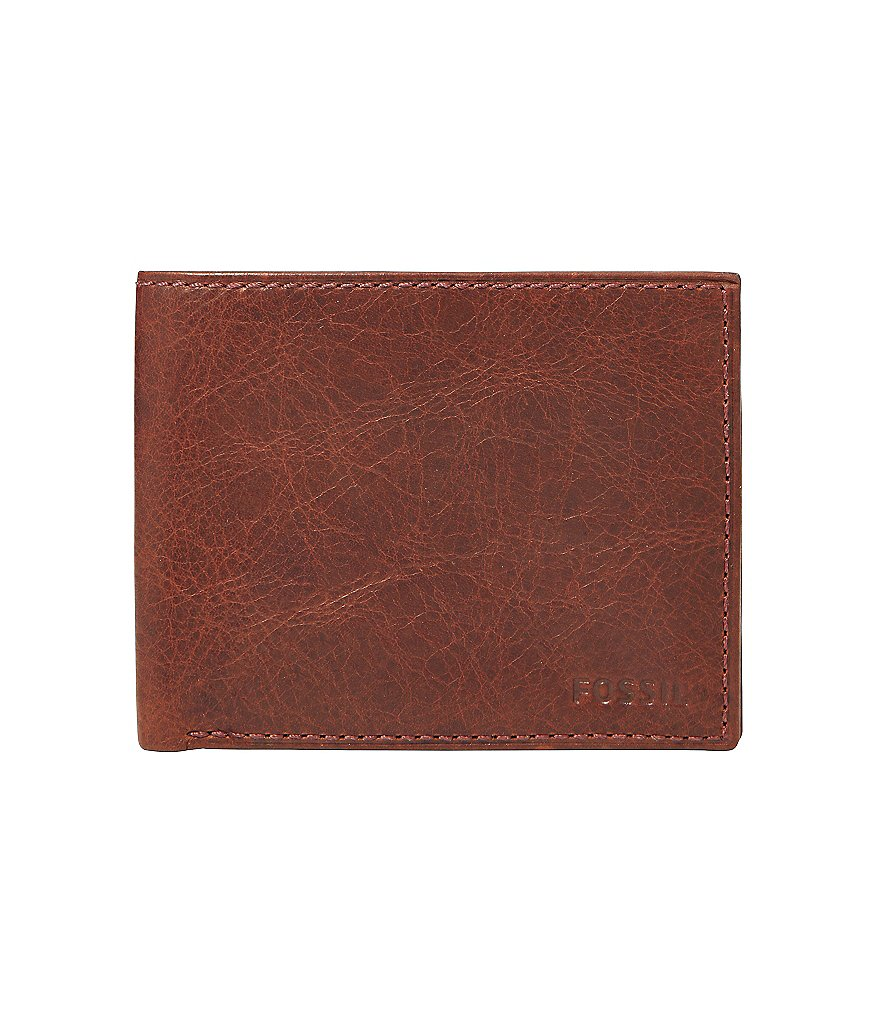 Fossil Ingram L-Zip Bifold Wallet