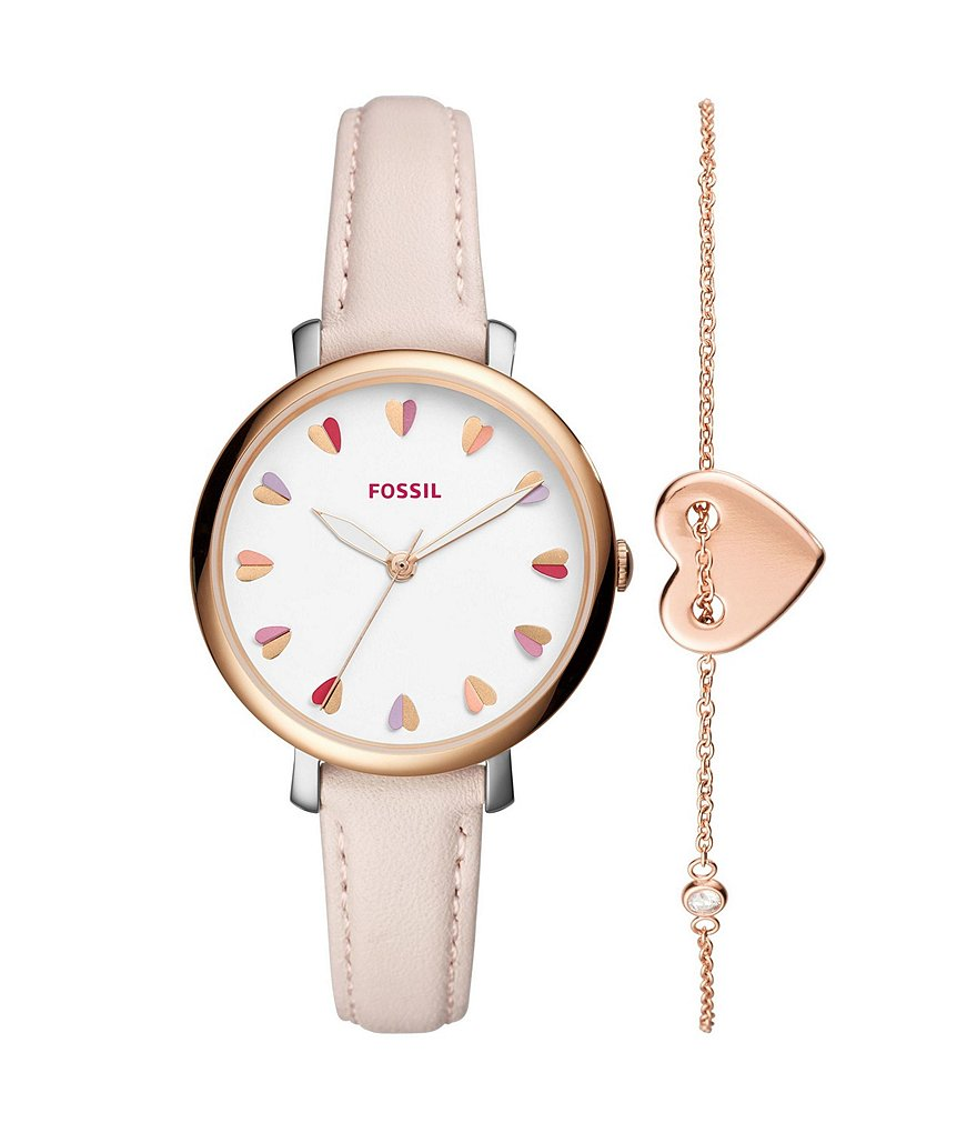 Fossil Jacqueline Watch & Bracelet Set