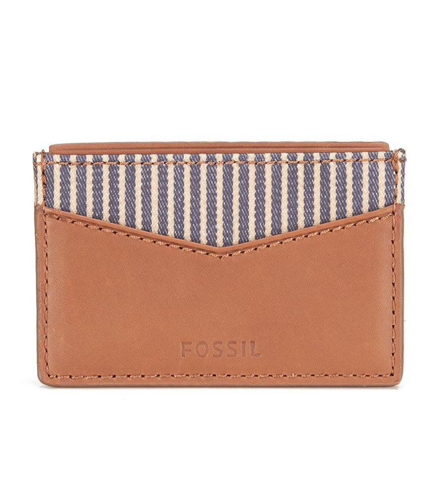 Fossil Knox Leather Card Case