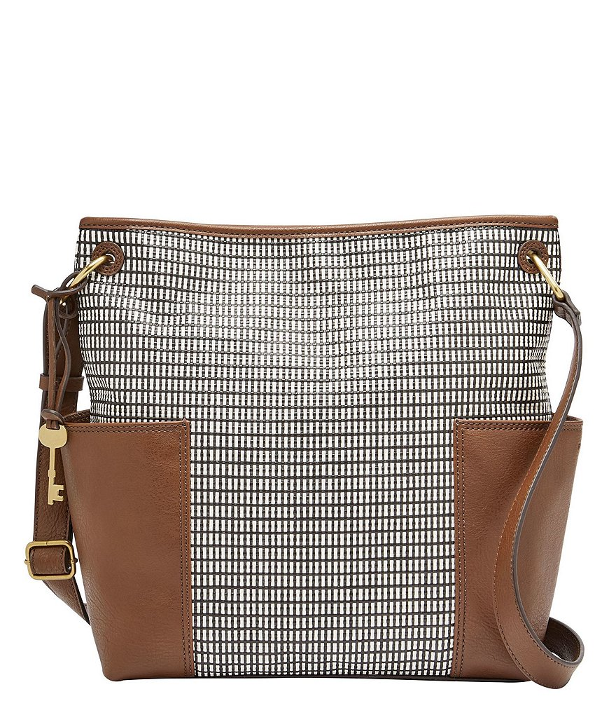Fossil Lane Printed Cross-Body Bag