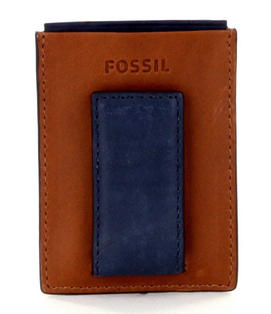 Fossil Max Card Case with Magnetic Money Clip