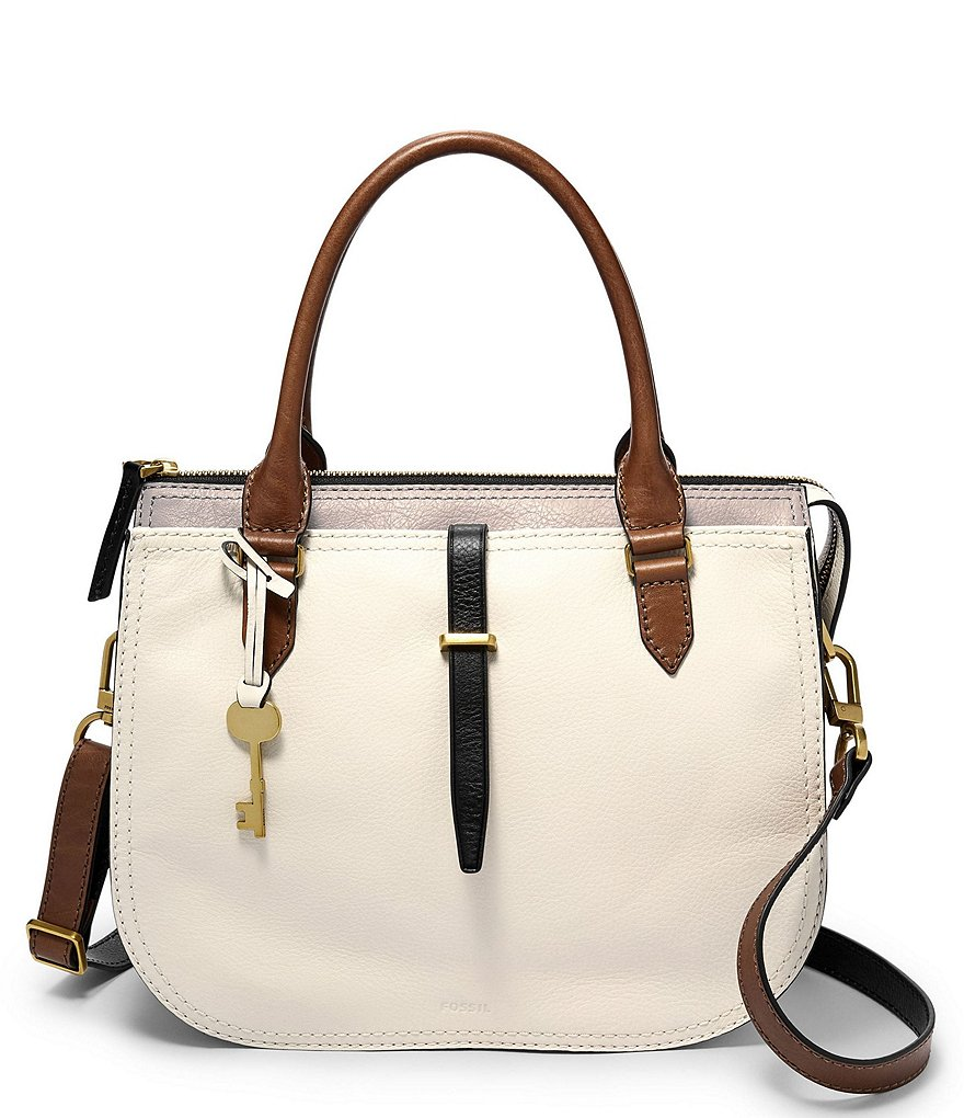 Fossil Ryder Colorblock Satchel