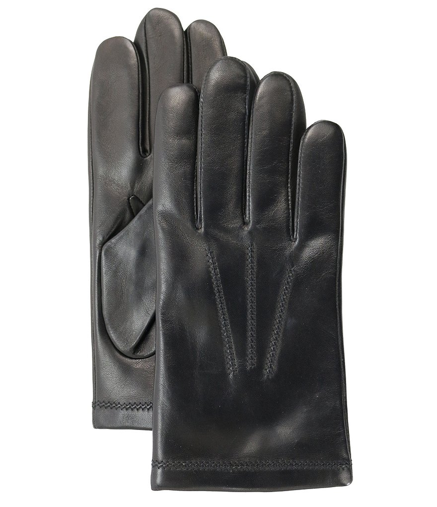 Fownes Men's 3-Point Cashmere-Lined Leather Gloves